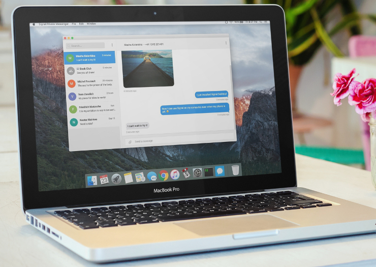 Desktop support comes to Signal for iPhone