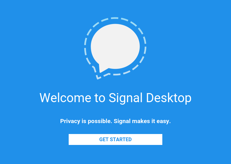 how to call from signal desktop
